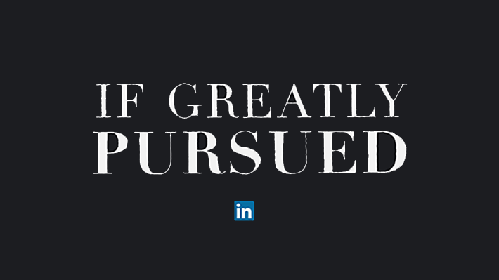 Every Calling Is Great If Greatly Pursued Official Linkedin Blog
