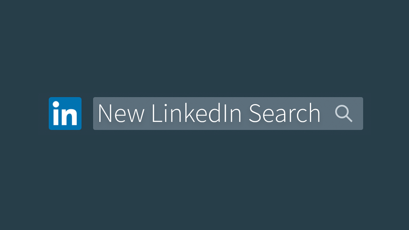 in this redesign you now have one single search box at the top of every linkedin page to find people jobs - How Linkedin May Help You Find A Job And Advance Your Career